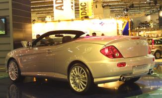 Hyundai Pr Sentiert Coup Cabrio Studie Ccs Als